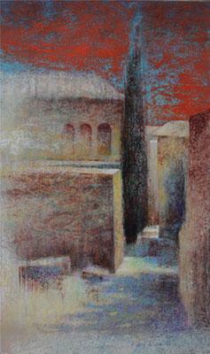 Provence - 46x27 cm - Acrylique sur toile