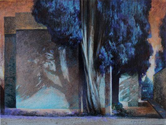 L'arbre - 46x61 cm - Acrylique sur toile