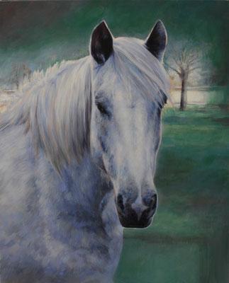 Desperado peinture - 81x65 cm - Acrylique sur toile de lin