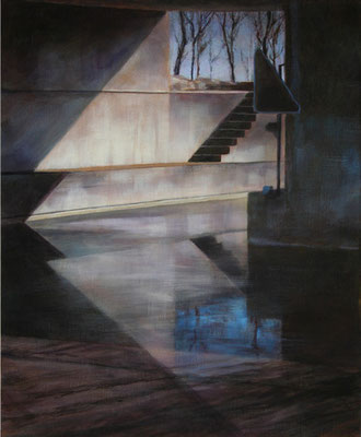 Le passage - 61x50 cm - Acrylique sur toile