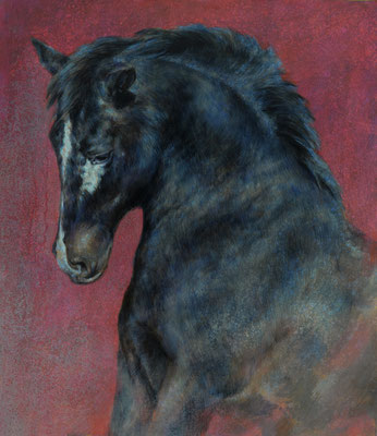 Canyon peinture - 80x70 cm - Acrylique sur toile de lin