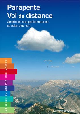 Couverture du livre Parapente vol de distance aux éditions du chemin des crêtes