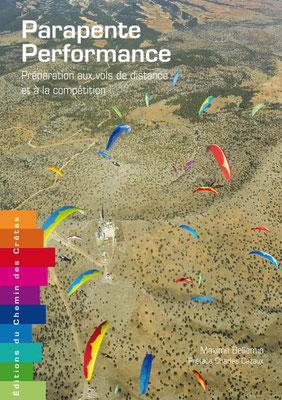 Couverture du livre Parapente Performance des éditions du chemin des crêtes