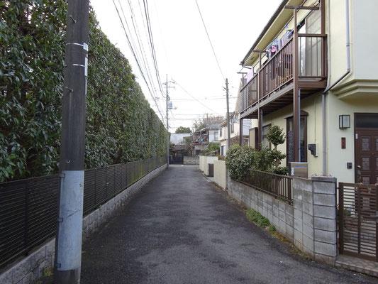 売地 和泉本町3丁目【74.26㎡・2,980万円】前面道路