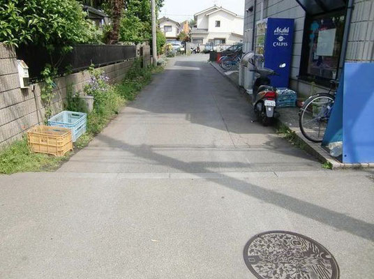 土地 狛江市和泉本町2丁目 100.44㎡(約30.38坪) 前面道路
