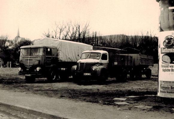 Logistikunternehmen R. Hartmann für den Nah- und Fernverkehr