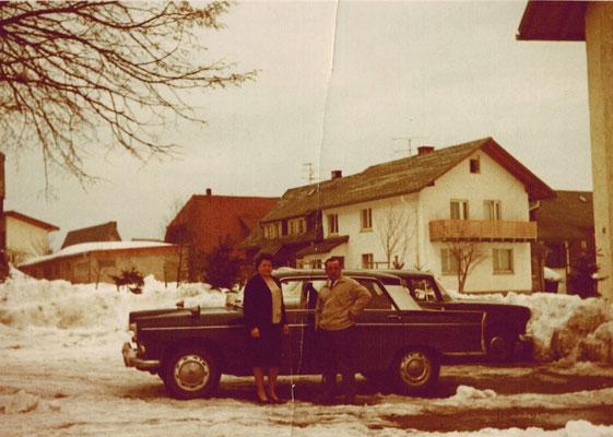 Ehepaar Hartmann in den 1960er Jahren