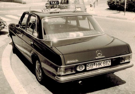 Anfänge des Taxigewerbes