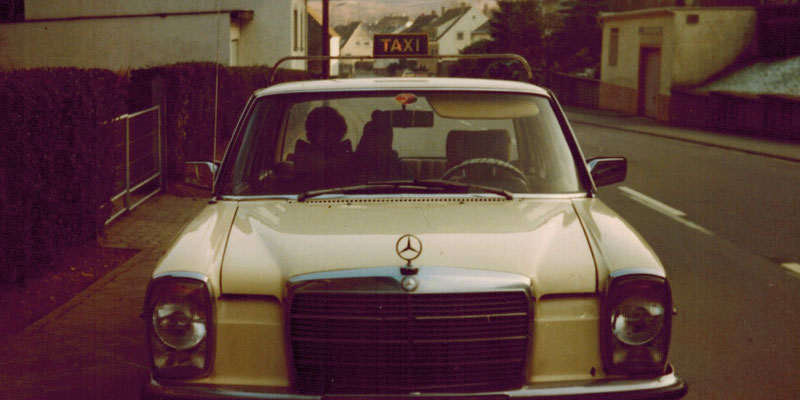 Hartmann-Taxi der 1980er Jahre