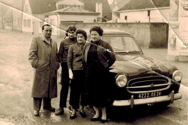 Familie Hartmann in den 1950er Jahren