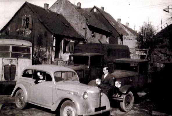 Fuhrpark nach dem Ende des 2. Weltkrieges