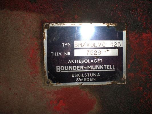 Bollinder - Munktell   Volvo 425