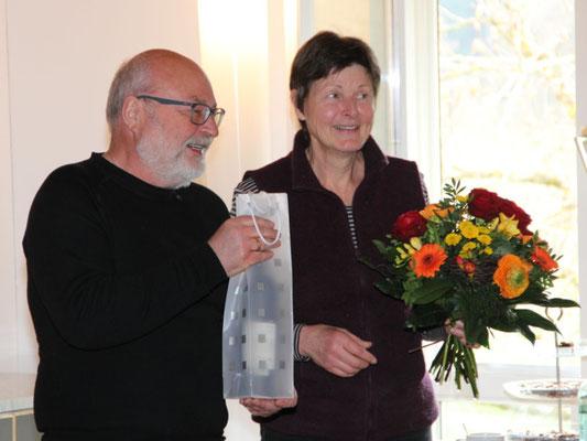 Die Gastgeber, Ursula Mergozzi und Georg Grubert