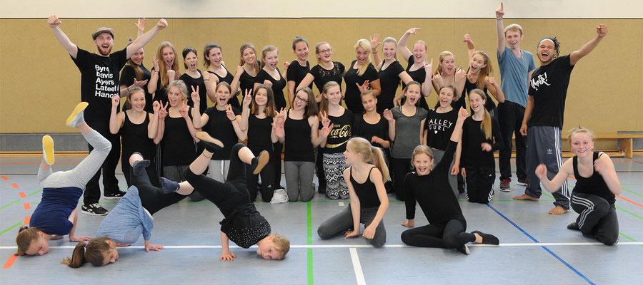 Die Mädels hatten sichtlich Spaß am Workshop!