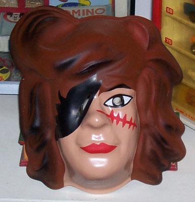 Maschera di carnevale di Capitan Harlock fondo di magazzino.