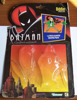 Blister vuoto Batman serie animate - versione italiana