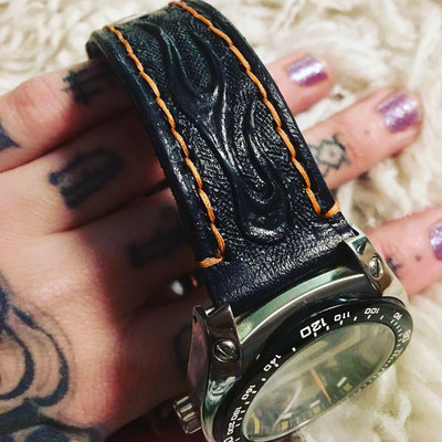 Harley watch strap