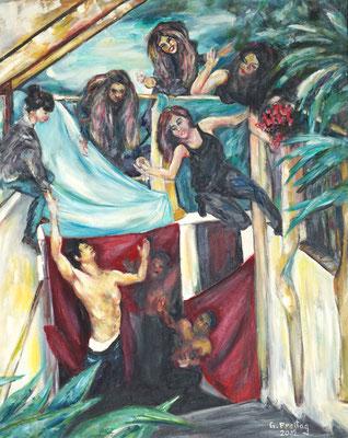 FAUST | 2012, Öl auf Leinwand, 80 x 100 cm