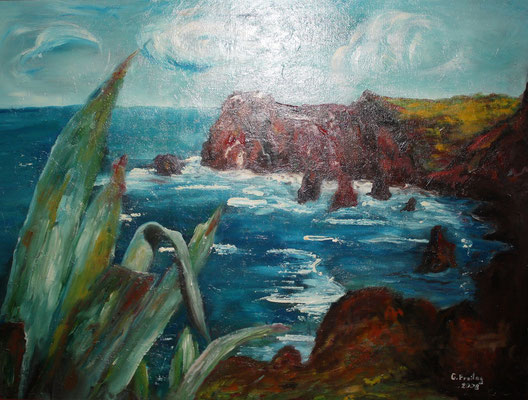 MADEIRA  2008, Öl auf Leinwand, 80 x 60 cm