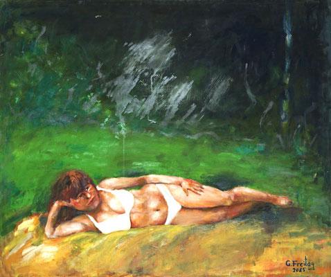 BARBARA  2014, Öl auf Leinwand, 100 x 120 cm