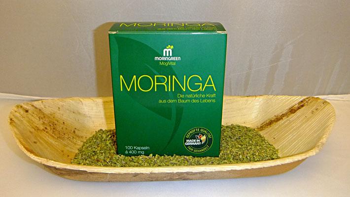 Moringa Kapseln von Moringreen