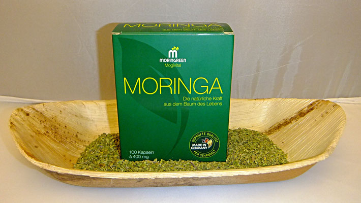Moringa Kapseln von Moringreen, 24 euro