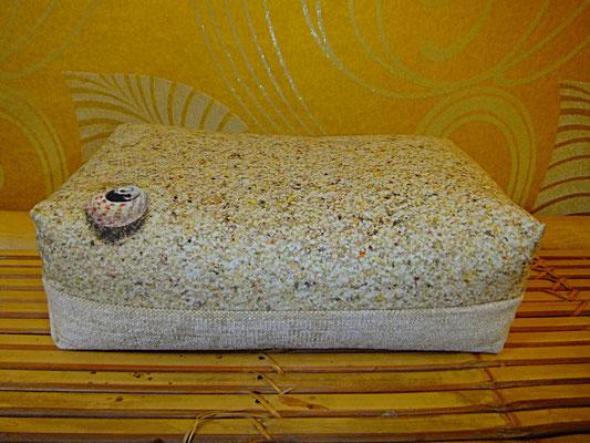 Motiv Kissen, Element Sand, Yogakissen, Meditationskissen,  1 Stück, 34 euro, ab 5 Stück 24 euro