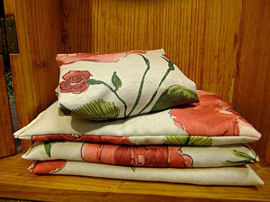 Rosenduft aus echten Blüten, Duftkissen zum Entspannen