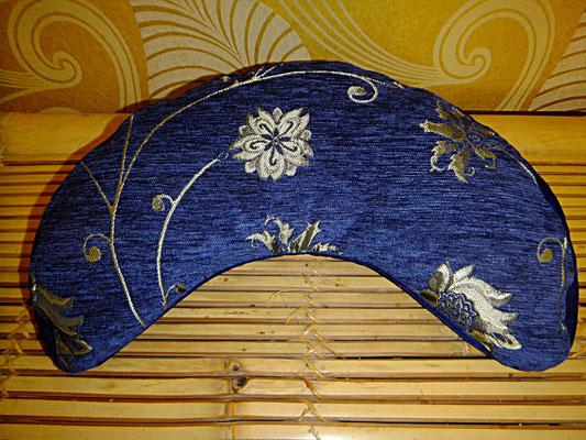 Yogakissen, Meditationskissen, blau, Mond, 54 euro, Sitzkultur, Kissen zum Küssen