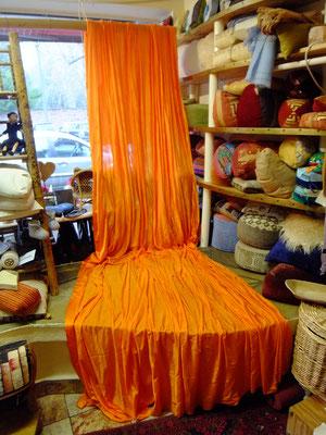 Aerial Yoga orange
