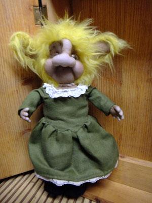 Troll gross 48 euro, Island Troll, Kunsthandwerk im Gudwork