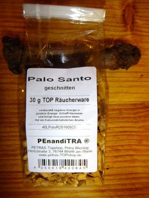 Palo Santo, Räucher Holz