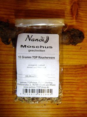 Moschus, Räuchern mit Heimischen Wurzeln und Kräutern