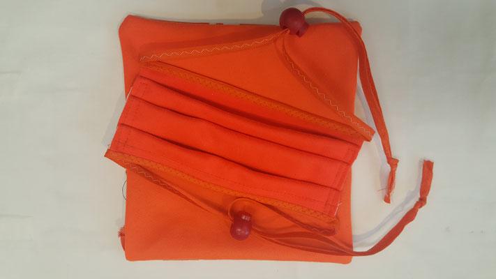 Maske: Motiv, Uni Orange