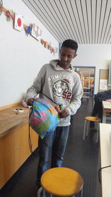Schulprojekt Sporttaschen nähen