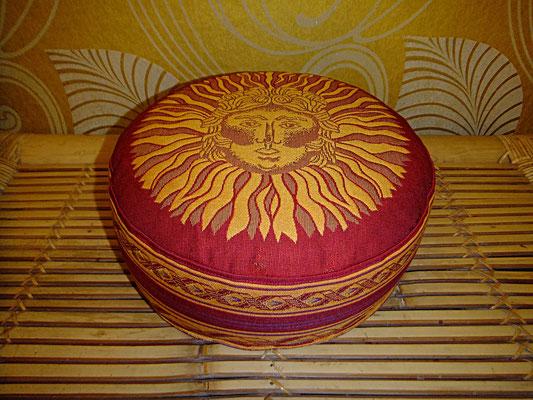Yogakissen, Meditationskissen, , 54 euro, Sitzkissen, Sonne, Rot, Orange