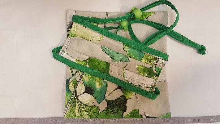 Maske: Motiv, Gingko Blätter, Sommermaske
