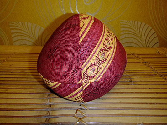 Yogakissen, Meditationskissen, Foodball, 34 euro, Rot, Orange
