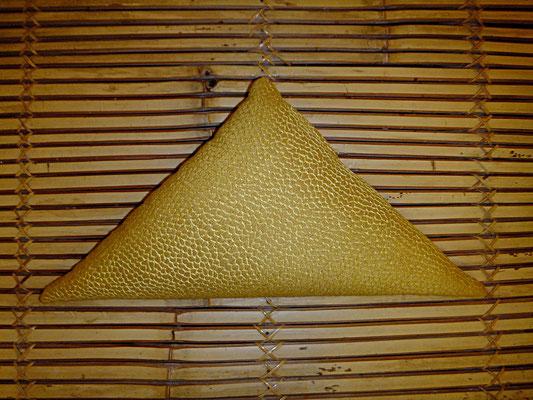 Shiatsu Kissen, Dreieck, gelb, 28 euro