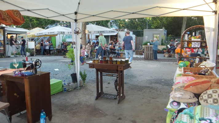 Frankfurter Garten, Tretnähmschine und co