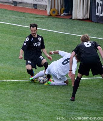 2014-15 BORGOSESIA-DERTHONA 1-0 LA SOLITA GRINTA DI MARJOL ZEFI