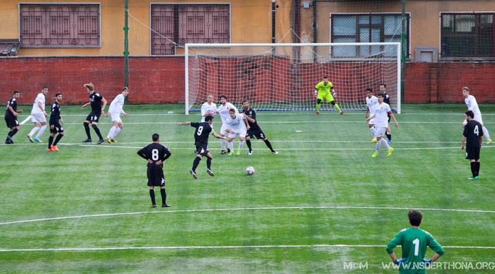 2014-15 BORGOSESIA-DERTHONA 1-0 PUNIZIONE FIACCA DI SIMONE BAUDINELLI