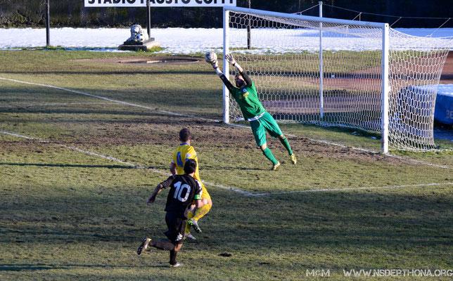 2014-15 Derthona-Sporting Bellinzago Altra occasione per Simone Baudinelli