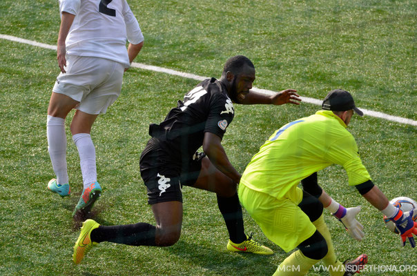 2014-15 BORGOSESIA-DERTHONA 1-0 AGYEPONG MICHAEL