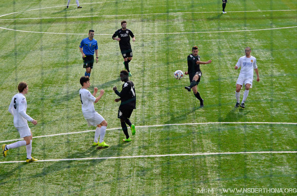 2014-15 BORGOSESIA-DERTHONA 1-0 ALEX MAZZOCCA CI ILLUDE CON UN GRAN TIRO