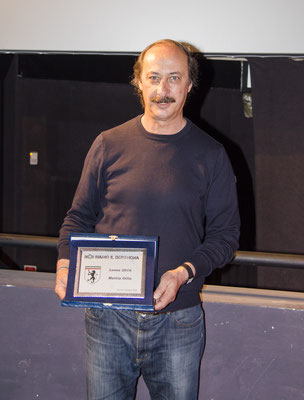 Il Leone 2016 Mattia Gilio (qui suo padre in delega)