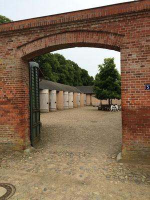Eingang zum Hof der Remise