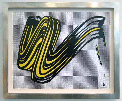 © Roy Lichtenstein: Brushstroke (Mailer)