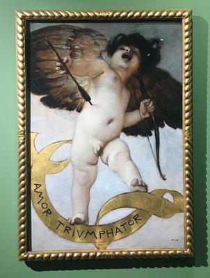 Franz von Stuck - Amor Triumphator