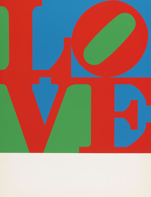 © Robert Indiana: Love Frieze